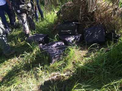 "Operativo ""Tijera"" logró sacar de circulación casi media tonelada de cocaína"