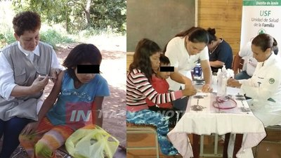 EXITOSA ATENCIÓN SANITARIA A COMUNIDADES INDÍGENAS DE ITAPÚA