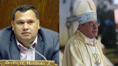"Derlis Maidana contra la homilía de Caacupé ""ya se pasan de figuretismo"""