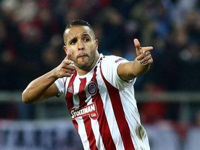 Un postrero gol lleva al Olympiacos a la Europa League