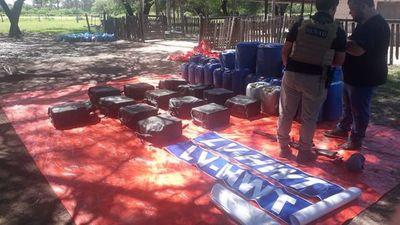 """Cocaína incautada asciende a 478 kilos y tiene vínculos con """"narcopolíticos"""""""