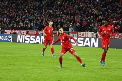 Bayern ganó a Tottenham y terminó con puntaje perfecto