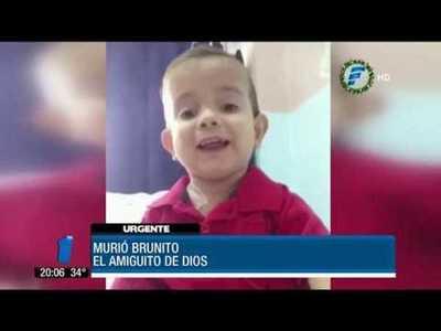 Montaner se despide de Brunito