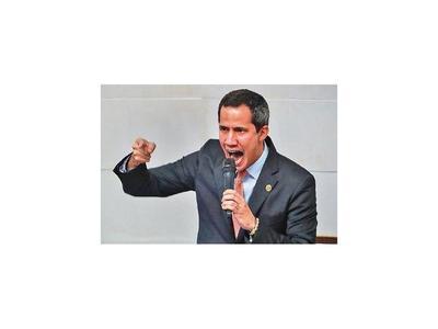 Juan Guaidó  promete libertad para Venezuela en el   2020
