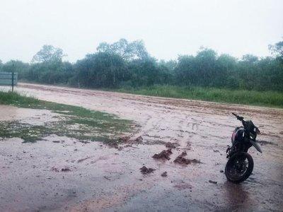 La temporada de lluvias en el Chaco ya deja varios caminos clausurados
