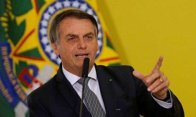 Bolsonaro invitó al nuevo mandatario argentino a Brasil