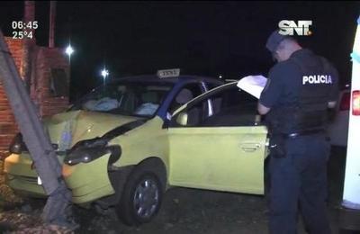 Asalto y muerte de taxista en Luque