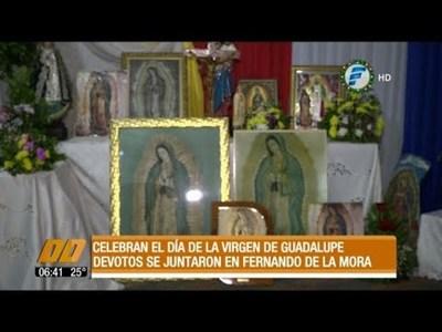 Celebran el Día de la Virgen de Guadalupe