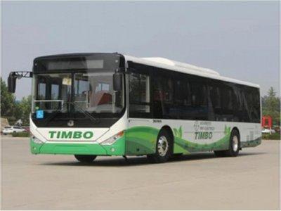 Bus 100% eléctrico realizó su primer recorrido