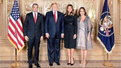 Abdo hablará con Trump sobre seguridad y comercio, anuncian