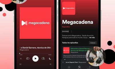 Llegó el podcast de la Megacadena, para que no te pierdas de ninguna nota