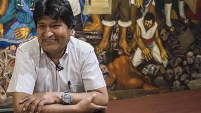 Evo Morales llegó a la Argentina para quedarse como refugiado