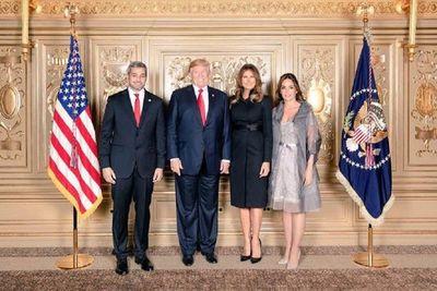 Trump recibirá a Abdo en el Salón Oval de la Casa Blanca