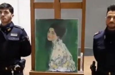 Jardinero 'resuelve' por casualidad el robo del cuadro más buscado de Gustav Klimt