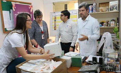 Tesãi dona medicamentos al Hospital Regional y Los Ángeles