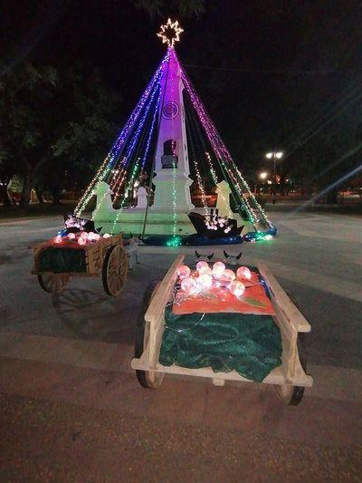 Villeta: Cultura repudia que utilicen monumento histórico como árbol navideño
