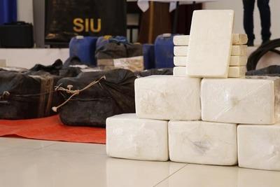 SENAD requisó 478 kilos de cocaína en el Chaco