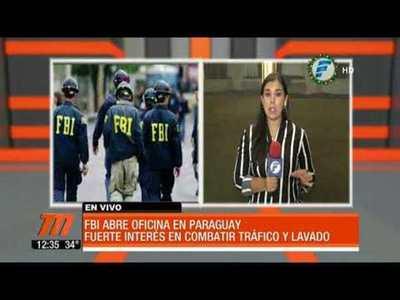 El FBI abre una oficina en Paraguay