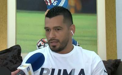Miguel Samudio, sorprendido con la gente de Olimpia