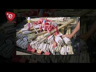 CUERPO DE BOMBEROS AZULES ADVIERTEN SOBRE LOS PELIGROS DE LA PIROTECNIA