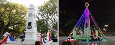 HOY / En Villeta 'decoran' un monumento histórico y Cultura reacciona