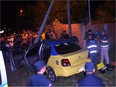La Policía busca a jóvenes adictos por crimen de un taxista en Luque