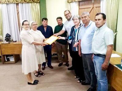 Reconocen servicio de religiosas en Carapeguá