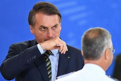 Jair Bolsonaro dice que podría padecer un cáncer en la piel