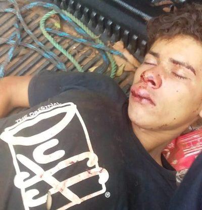 Comerciante golpeó a ebrio que generaba disturbios