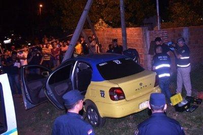 Identifican a sospechosos del crimen de taxista en Luque