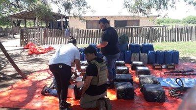 SENAD incautó unos cuatrocientos setenta y ocho kilos de cocaína en el Chaco
