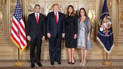 Abdo y Trump hablarán a solas en el Salón Oval