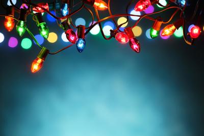 Luces que llenan el hogar de espíritu navideño