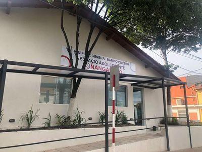 Hospital de Barrio Obrero cuenta con espacio de atención para adolescentes