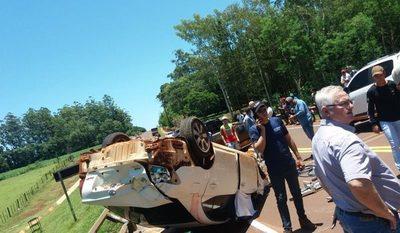 Fatal accidente en San Cristóbal