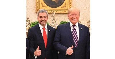 Abdo y Trump acuerdan profundizar relaciones y fortalecer la democracia en la región