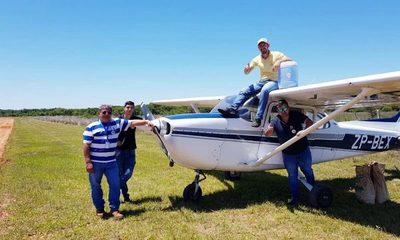 Franqueño pilotó en primera reforestación aérea del país