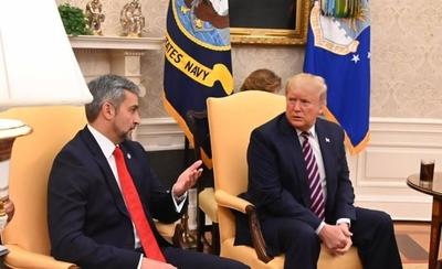 HOY / En video que alzó en Twitter, Abdo explica lo publicable de su reunión con Trump