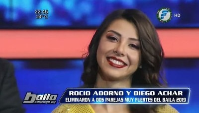 """Miss Tanga"" se autoproclamó ganadora del ""Baila"""
