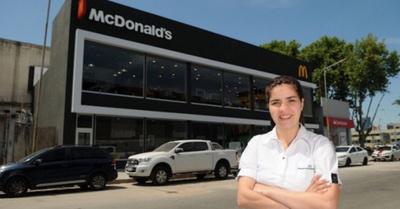Paraguaya se hizo dueña de un McDonald's, ashá