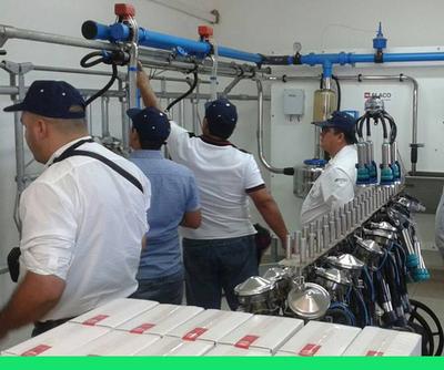 Aúnan esfuerzos para el fortalecimiento del sector lácteo