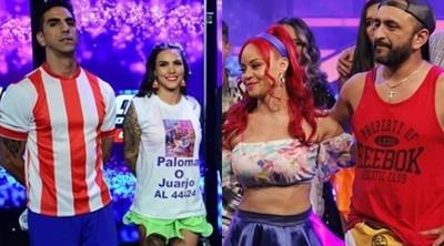 El Churero y Paloma Ferreira quedaron eliminados del 'Baila'