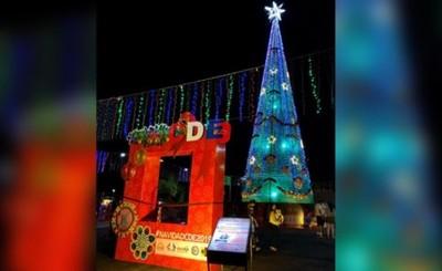 Ciudad del Este resplandece con #NavidadCDE2019