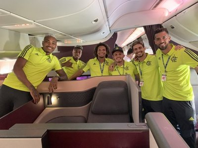 Flamengo ya está en Doha