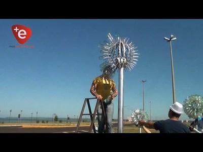 INTERVENCIÓN ARTÍSTICA URBANA EN MEMORIA DE OLGA SAMCEVICH DE LADAM