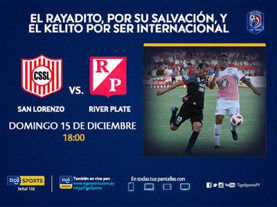 A San Lorenzo no le queda otra que la victoria frente a River Plate