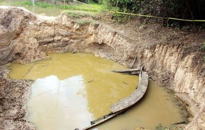 En  MOPC analizarán  hallazgo en río Yhaguy