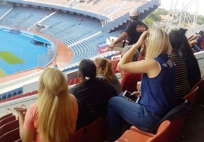 Internas observaron un partido en la  Nueva Olla