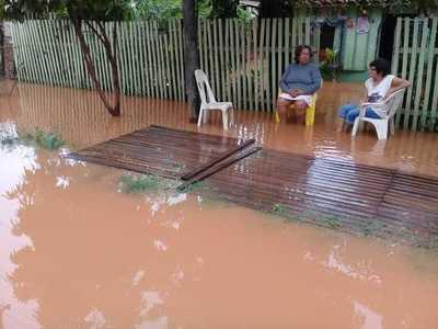 Con lluvias caídas, colapsa sistema de desagüe en Concepción