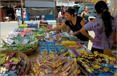 Prohibida la venta de pirotecnia en el Mercado 4